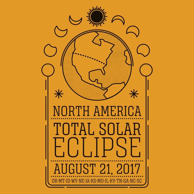 Solar Eclipse - illustration, solareclipse - maplekeystudio | ello
