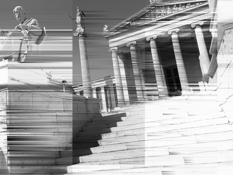 Greece, Athens, Digitalization - tol_gruber   ello