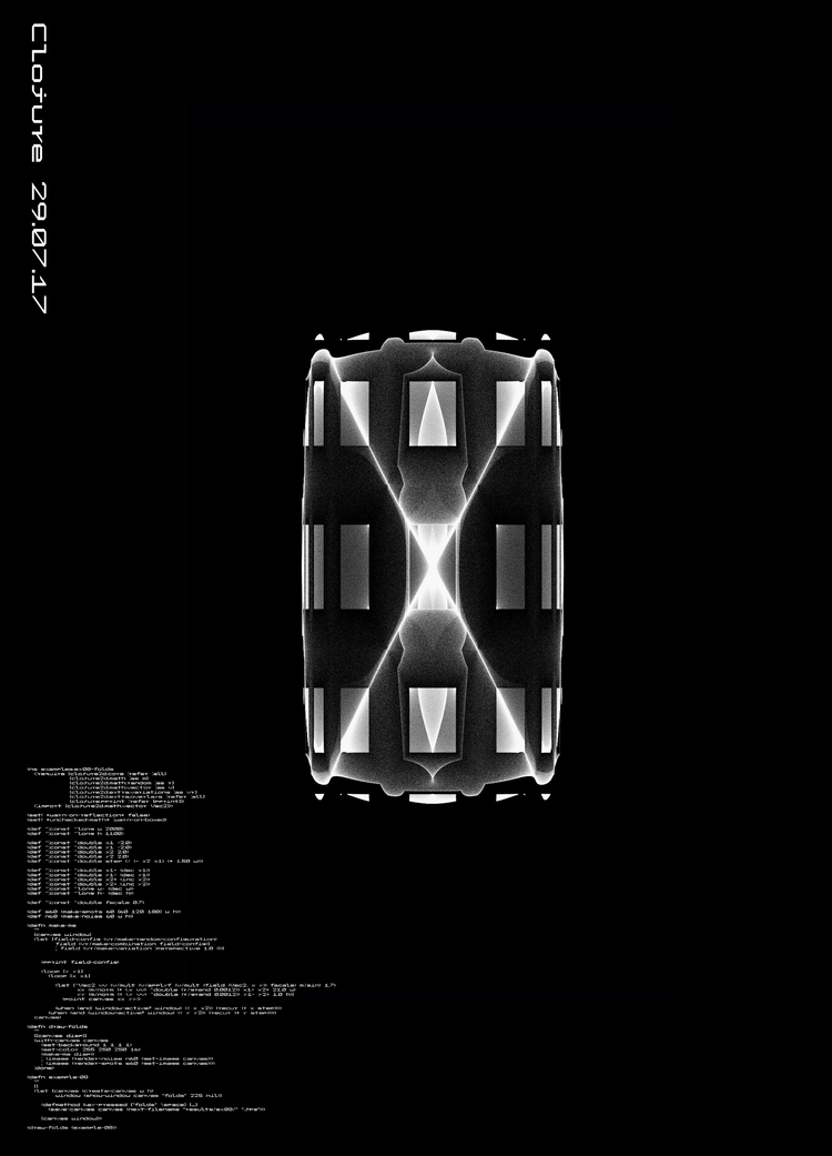 clojure2d, generative, art, design - mariusnedelcu | ello