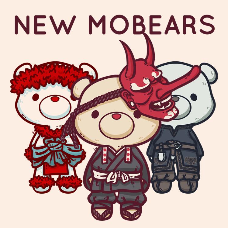 MoBear pieces! Bears inspires e - bluetoasterart | ello