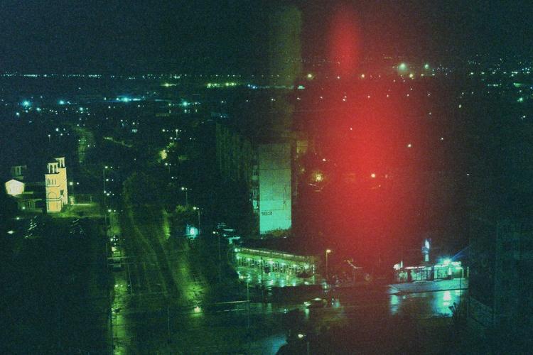 late, night, sparks, city, lights - coldd_desert   ello