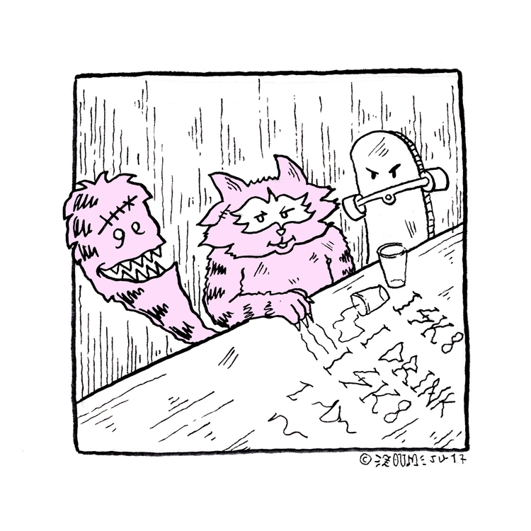 zoum, banditcat, raccoon, illustration - thomas_zoum | ello
