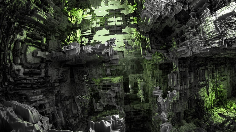 Cave Jawek Kwakman 3d fractal a - jawekkwakman | ello