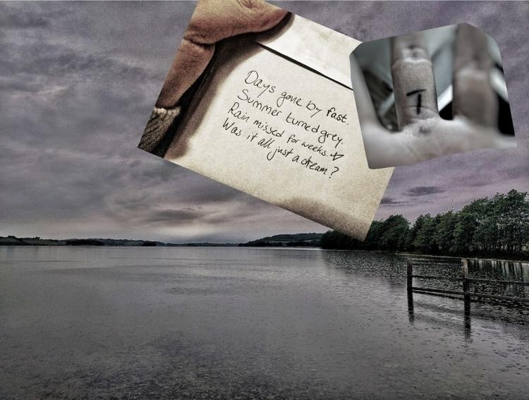 Summer hole - poem, vispo, writing - victoriainthewoods | ello