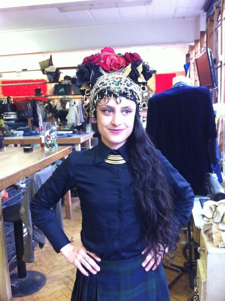 headpiece, costume, art, style - violetadada | ello