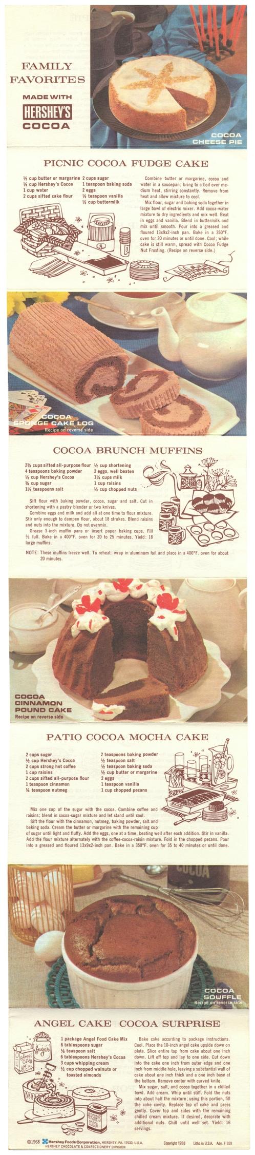 Picnic Cocoa Fudge Cake, Brunch - eudaemonius | ello