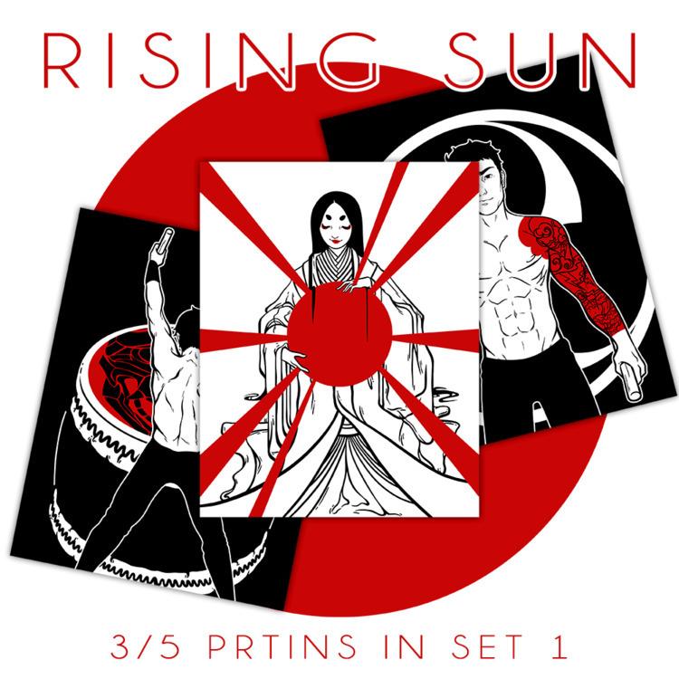 11x14in print set illustrations - bluetoasterart   ello