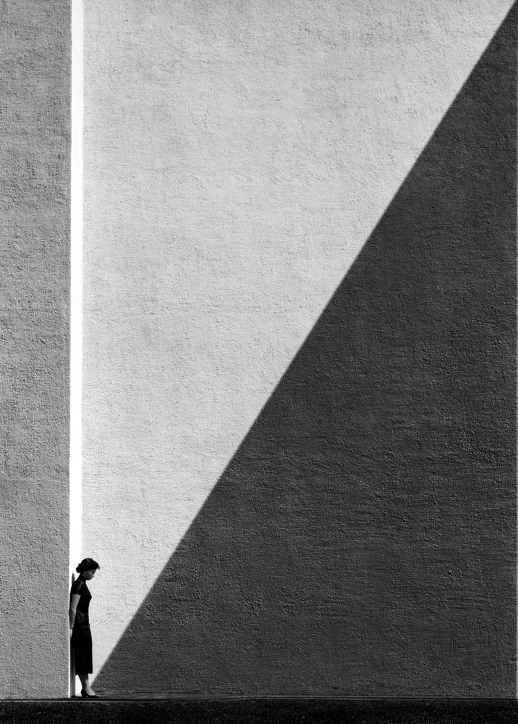 Fan Ho, Approaching Shadow - photography - ostalgia | ello