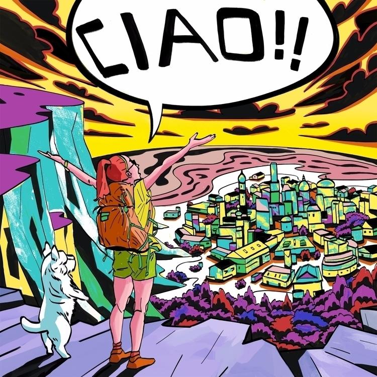 'CIAO - art, arte, artinfo, artist - ciaran_illustration | ello