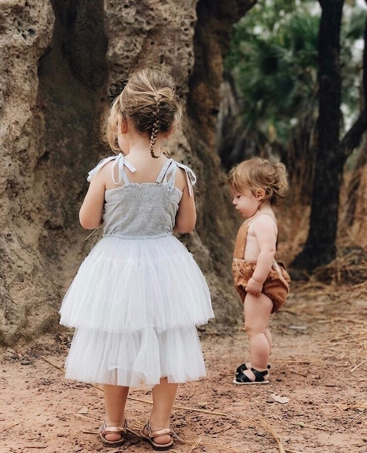 Tulle rompers time sharing beau - tikitot | ello