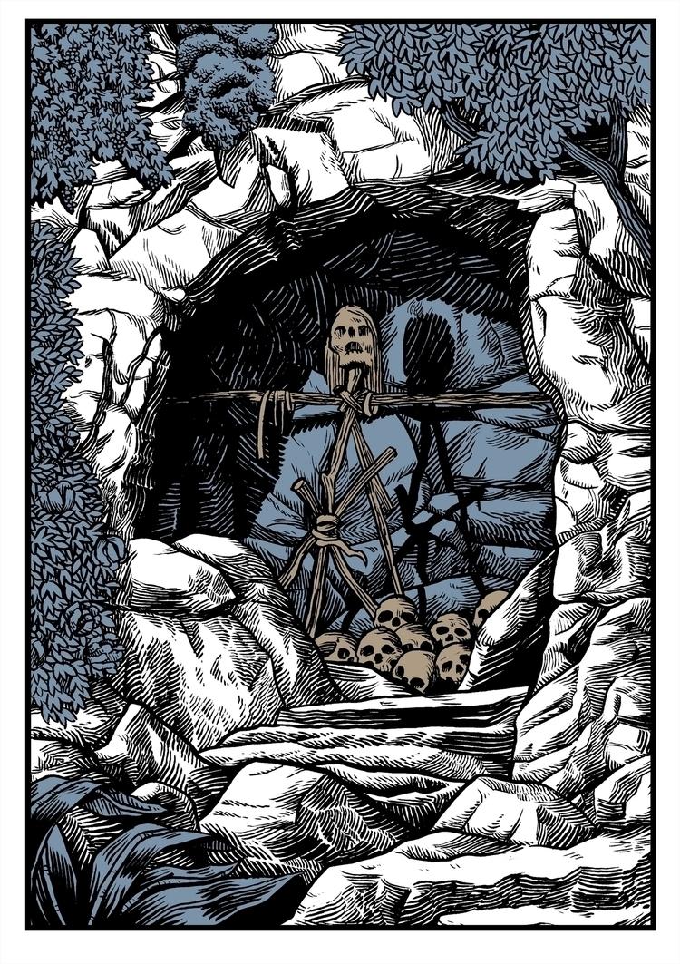 Madd Cave. Ink paper digital co - splendidhand | ello