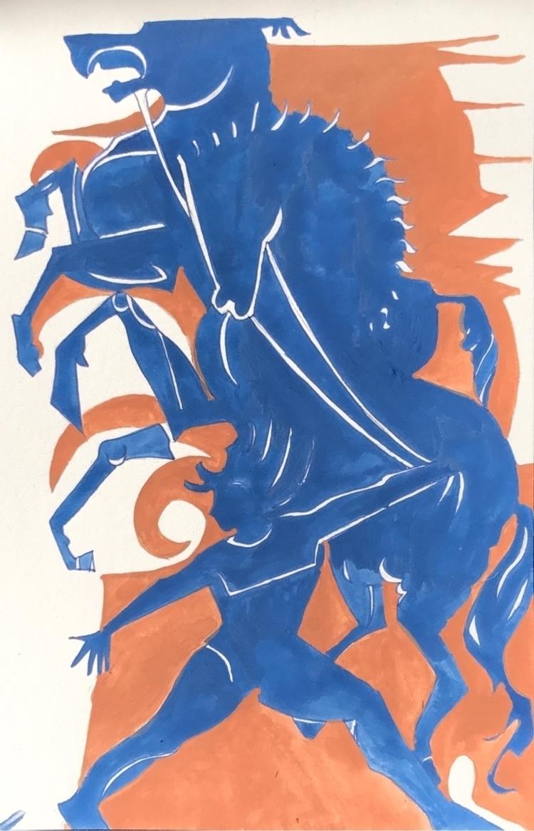 watercolor, illustration - whitneysanford   ello