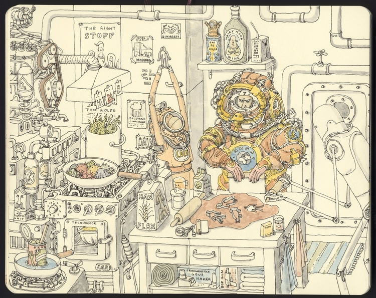 Kitchen duty - mattiasadolfsson | ello