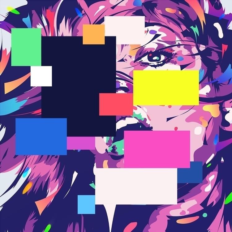 State flux - abstract, illustration - bramvanhaeren | ello