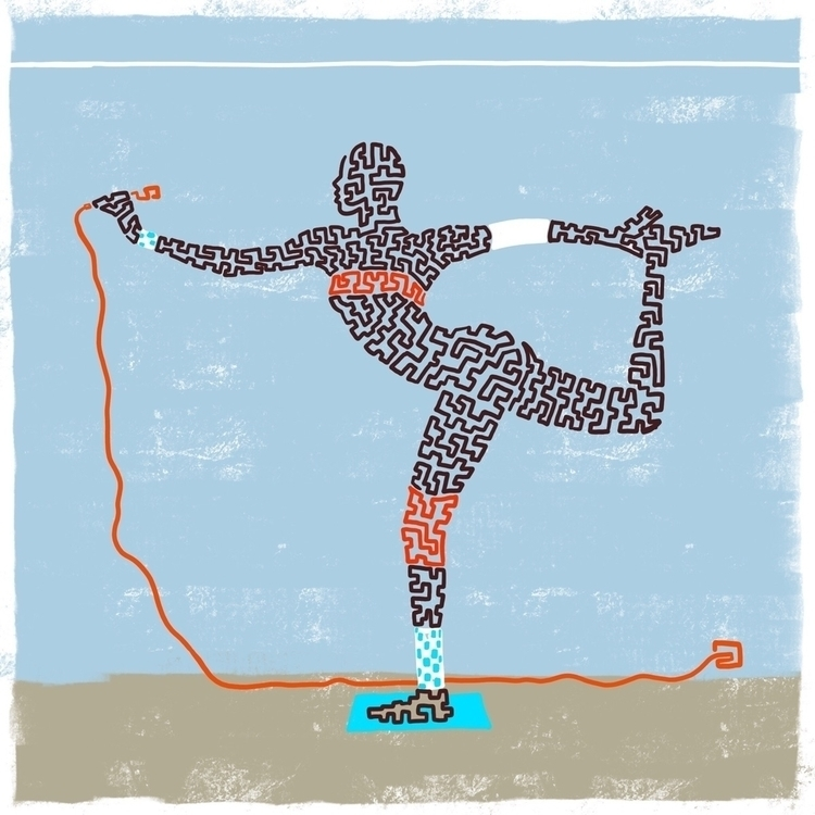 Island Life Furmie. Squiggle - illustration - furmie | ello