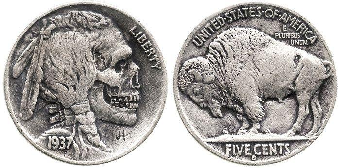 Hobo Nickel Indian United State - peligropictures   ello