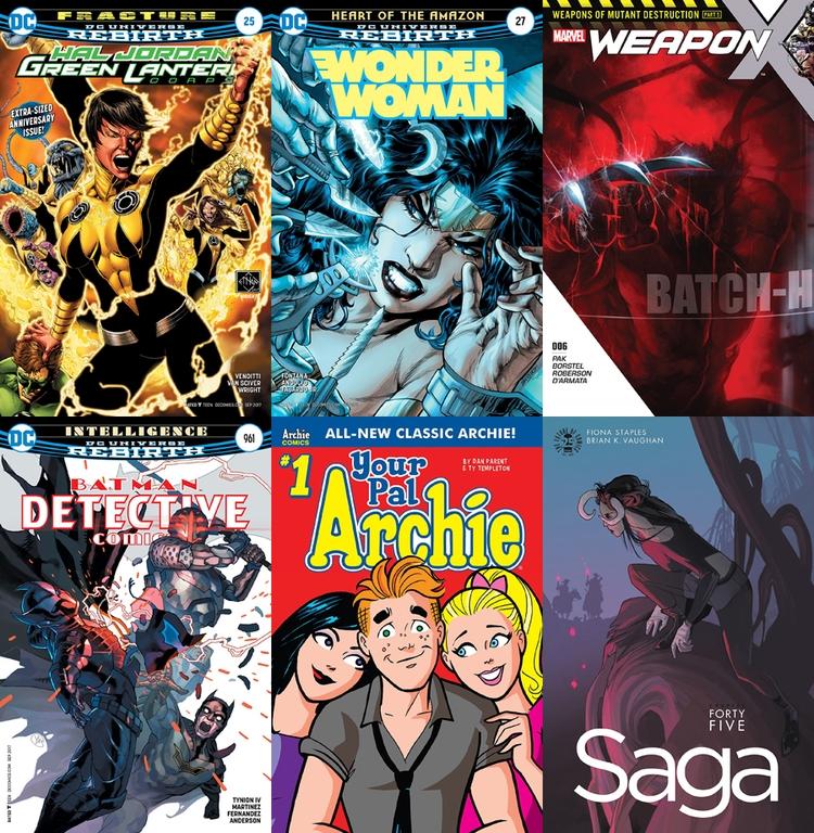 Rack Comics!  - 54 - comicbuzz | ello