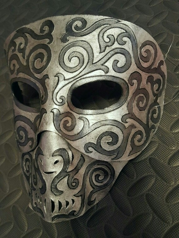 Leather Deatheater Mask - spiralfae | ello