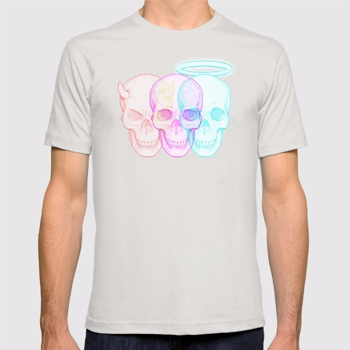 3 SKULLS / Colorful version Ill - itemlab_designstudio | ello