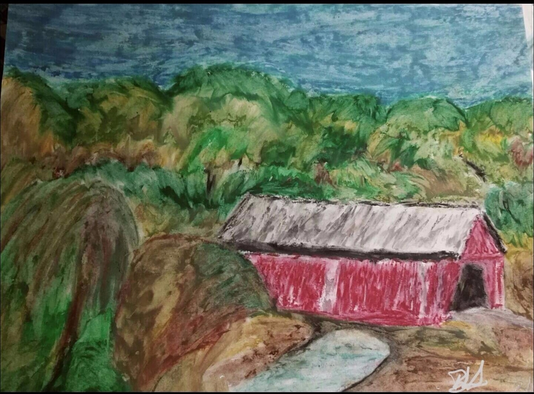 covered bridge- Greenville, SC - totallytwistedfickity | ello