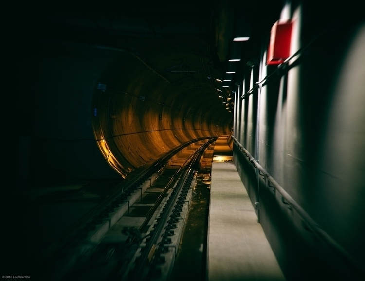 Stop - urban, Tunnel, Lee_Valentine - everythingends | ello
