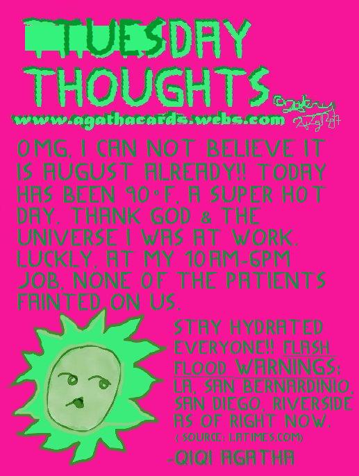Happy Tuesday:bangbang: Tuesday - agathacards | ello