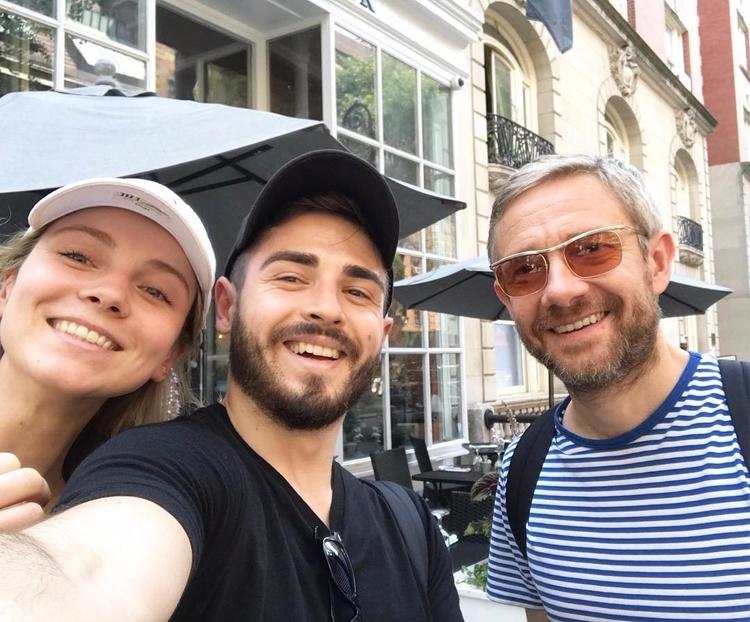 Con fans por las calles de NY!  - freemartinity | ello