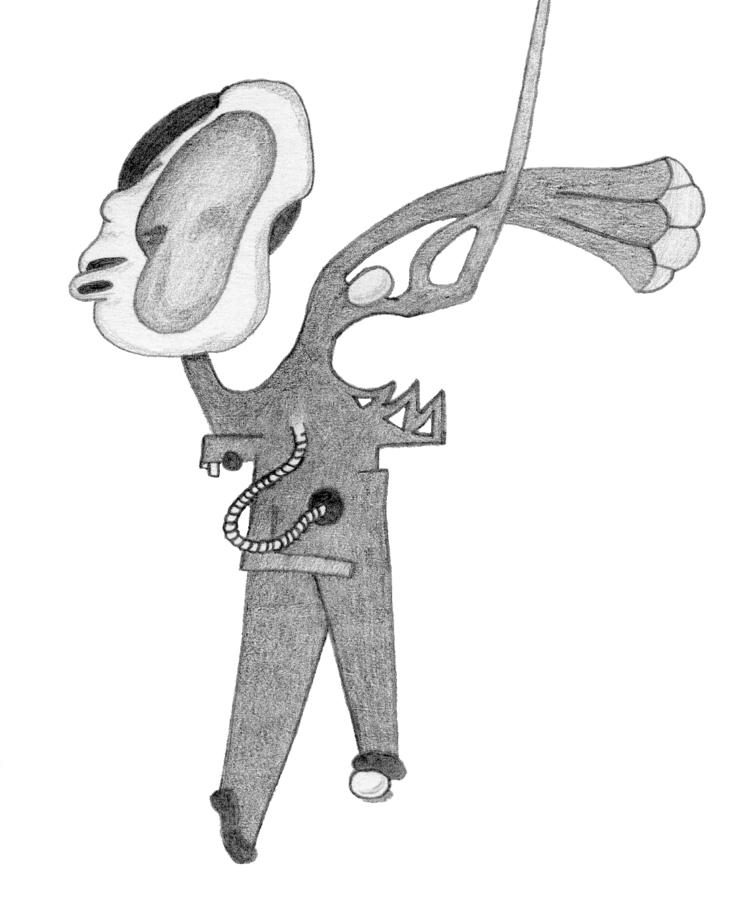 Scan sketchbook drawing, date u - w_a_davison | ello