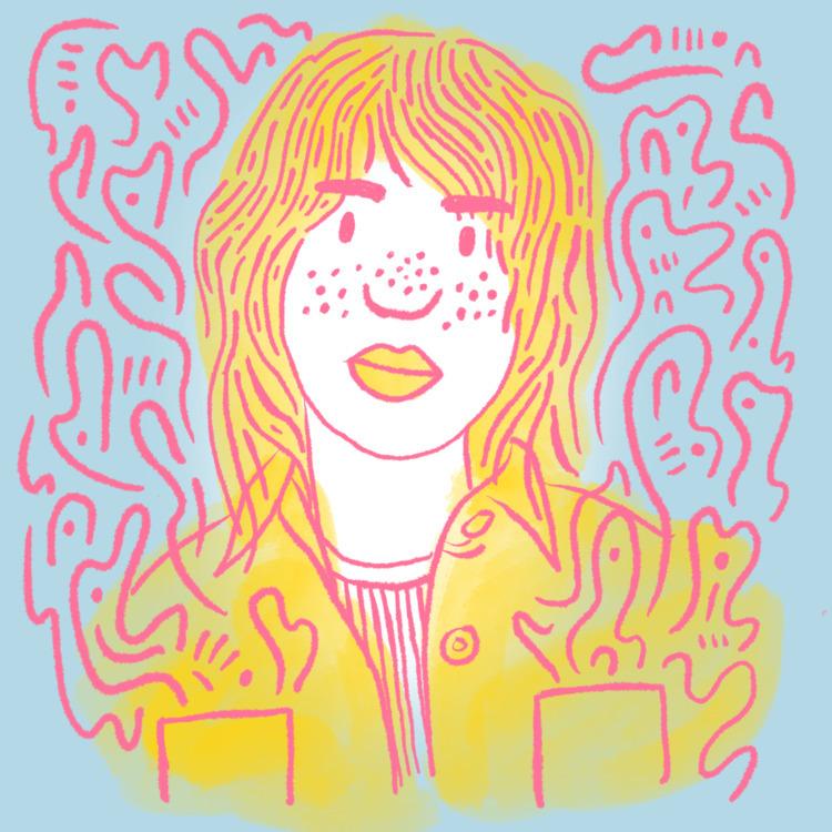 Freckled Gaze - illustration, illustrator - heybop | ello