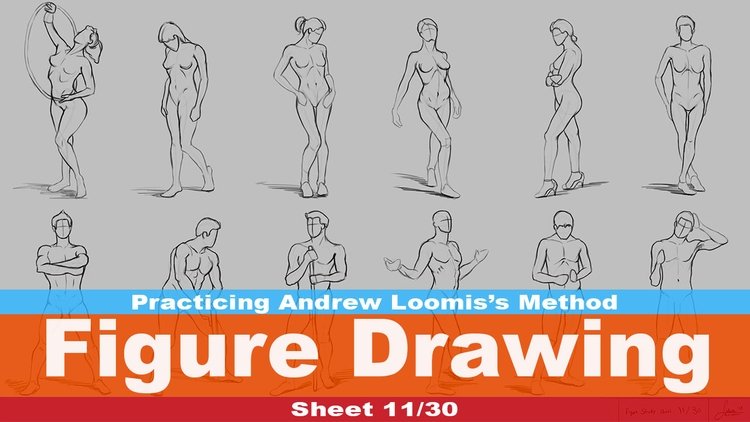 Figure Drawing 11/30 (Andrew Me - rain_walker | ello