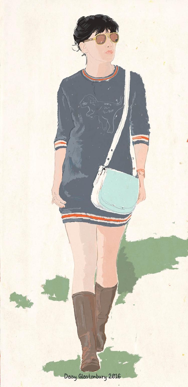 Daisy - illustration, dessin, drawing - zoe_vadim | ello
