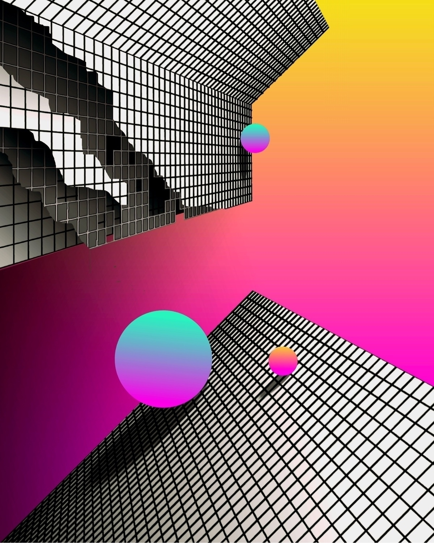 TILT SHIFT - abstract, geometric - matthewcustar | ello