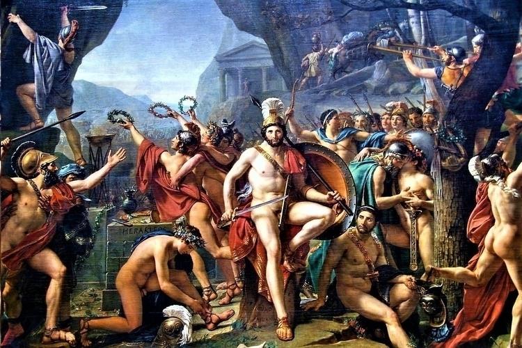 Léonidas aux Thermopyles Jacque - bitfactory | ello