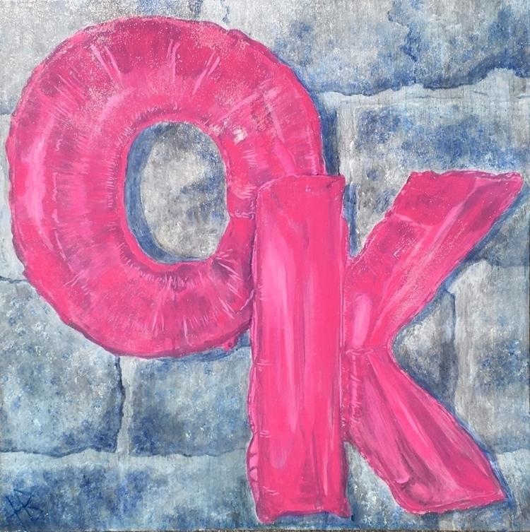 buddy Acrylic canvas. July 2017 - hacklock   ello