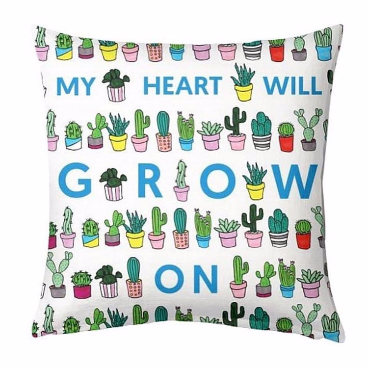 Heart Grow cushion BritaDesigns - artrookie | ello