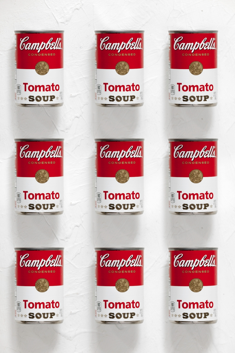 Ⅸ Tomato Campbell soup canvas S - sandromartini | ello