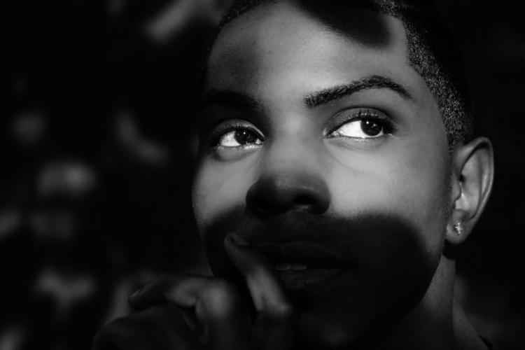 beneath shadowy figure - portrait - clever_created_it | ello