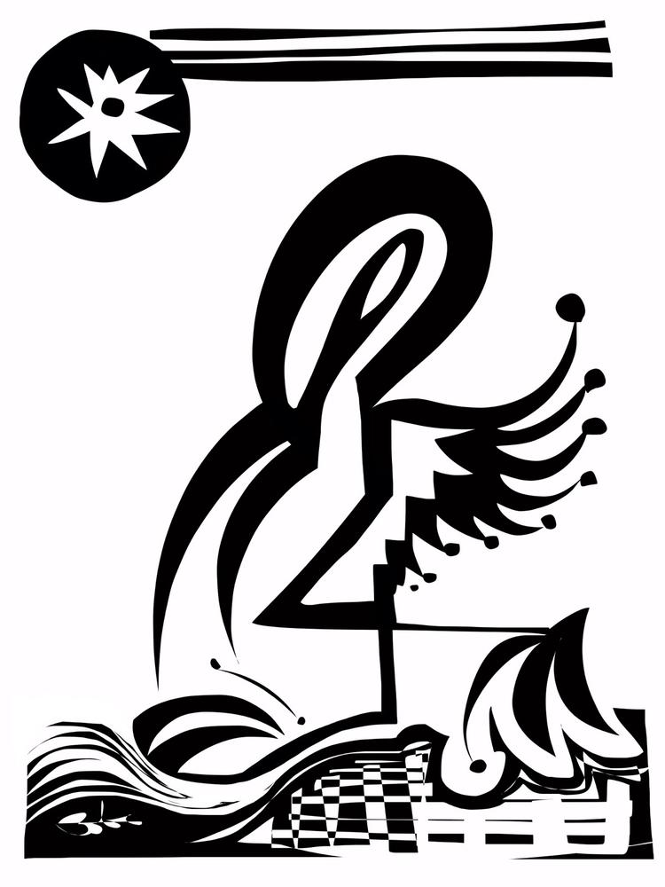flamingolem,, flamingo,, golem, - bobogolem_soylent-greenberg | ello