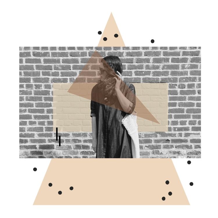 ~ - collage, digital, geometry, content - tlvbirdie | ello