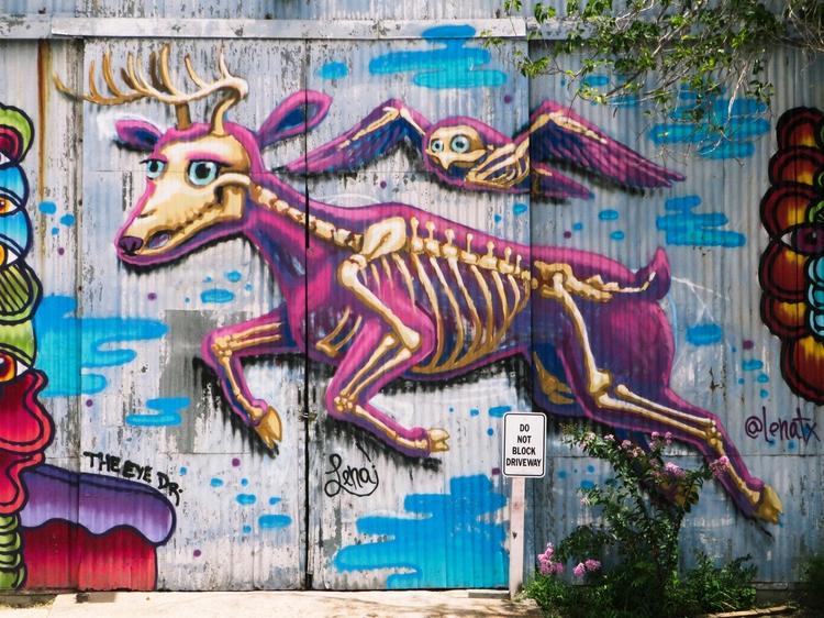 Graffiti - 8, eado, houston, meridian - jairorazo | ello