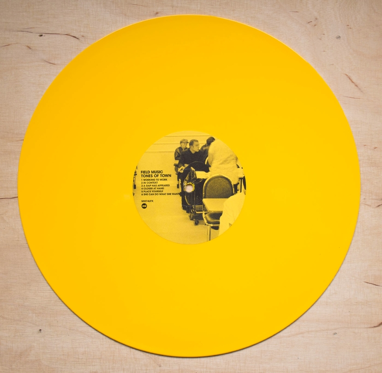 Tasty yellow glorious Field Mus - 12inch | ello