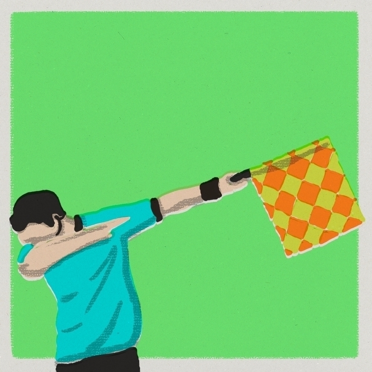 offside dab - football, soccer, editorial - stefanvanzoggel | ello