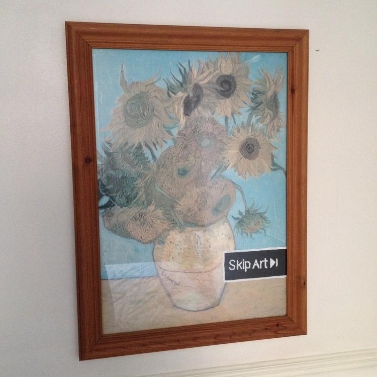 skip art - vangogh, recycled, painting - stefanvanzoggel | ello