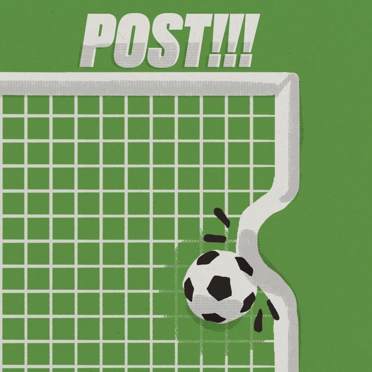 goal - football, post, crossbar - stefanvanzoggel | ello