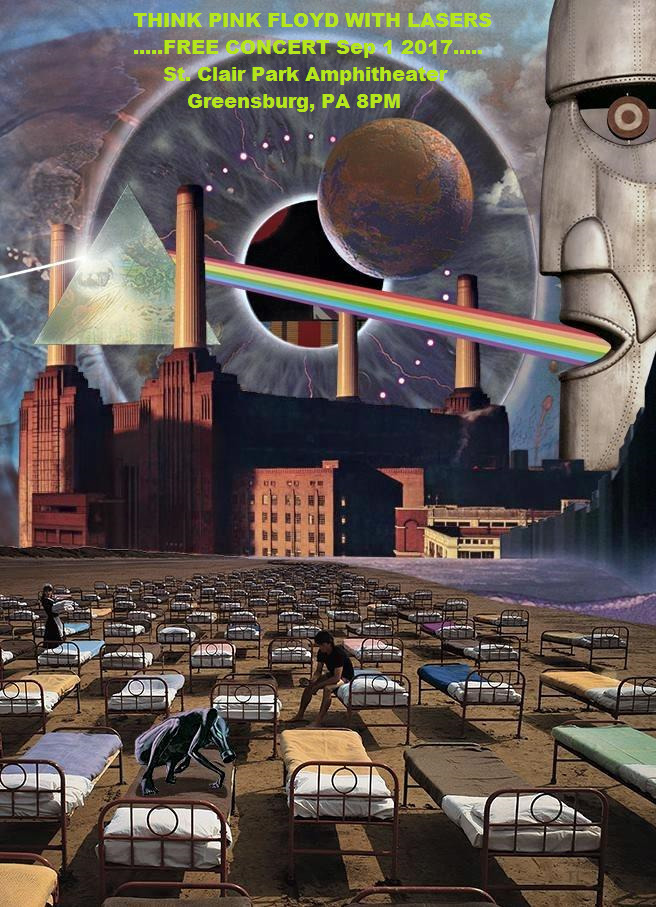 PINK FLOYD Show Sep 1-St. Clair - thinkpinkfloyd | ello