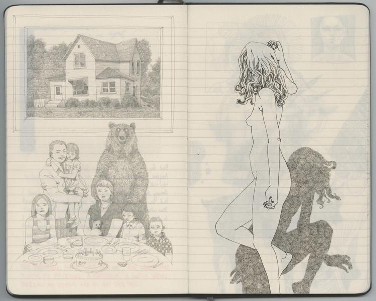 inescapable animal walks - sketchbook - lucong | ello