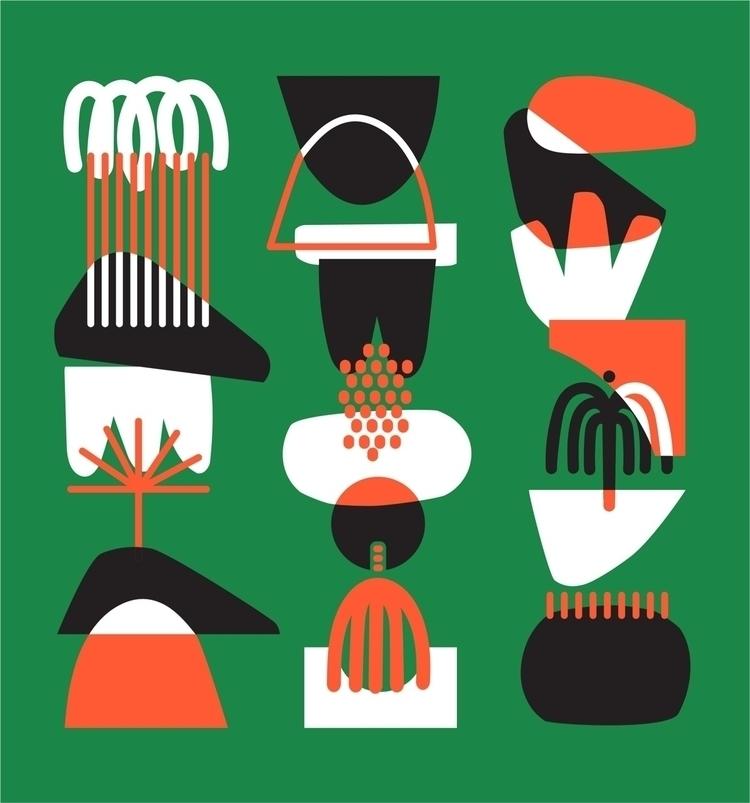 Tropical balance | - illustration - holalou | ello