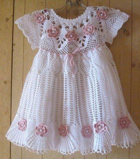 Loving model dress, delicate pa - brunacrochet | ello