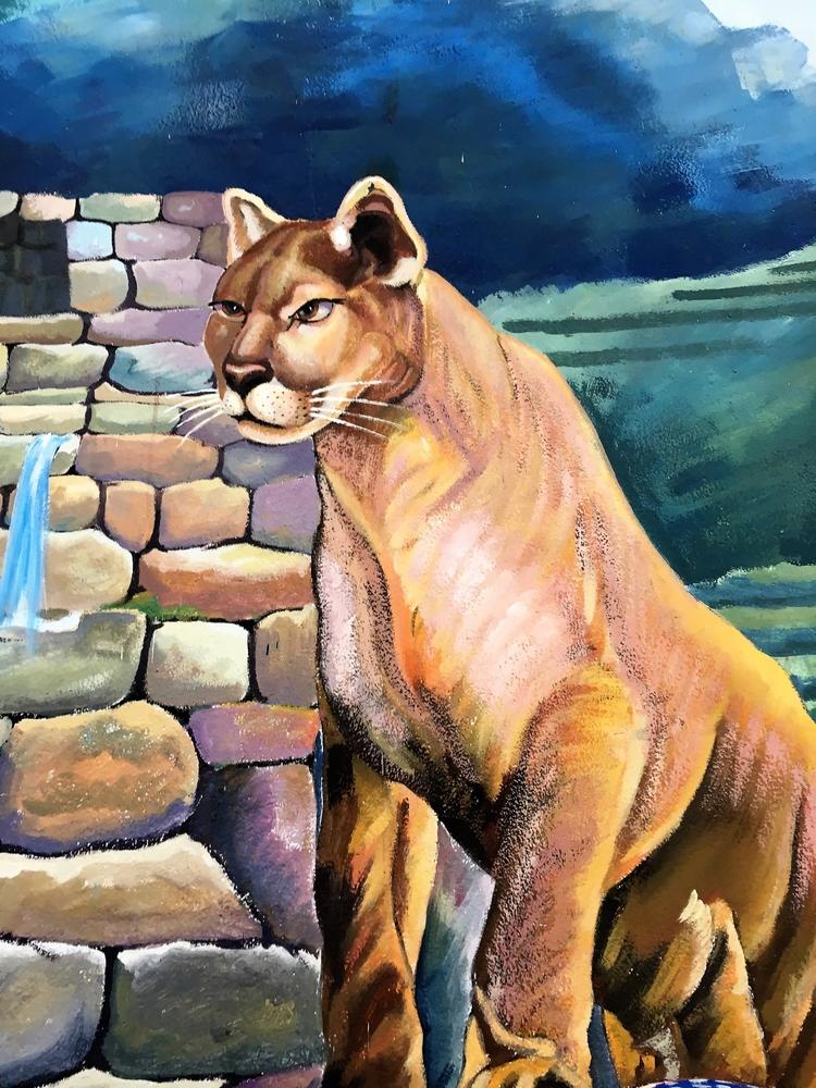 Peru, language, RunaSimi, mural - hatun | ello