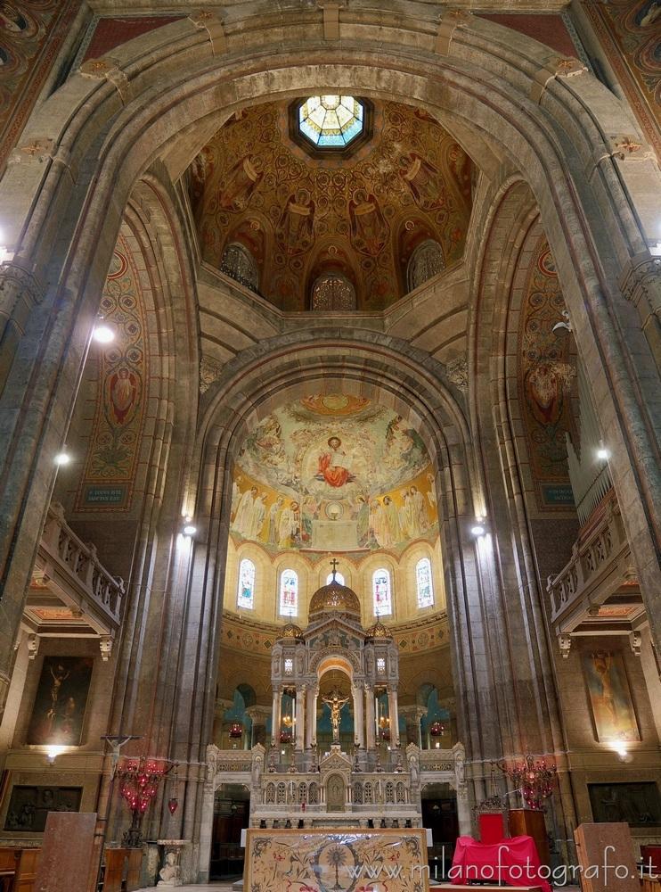 Milan (Italy): Altar prebytery  - milanofotografo | ello